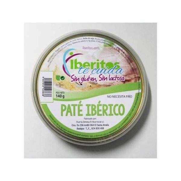 paté ibérico sin lactosa 140 grs