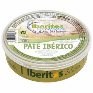paté ibérico sin lactosa