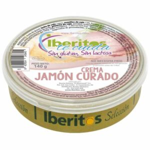 crema de jamón curado sin lactosa