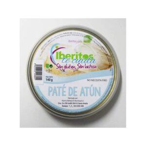 paté de atún sin lactosa iberitos
