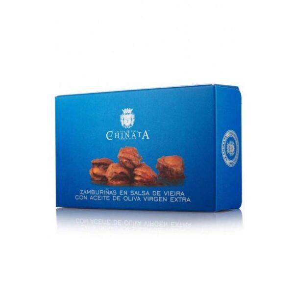 zamburiñas en salsa de vieira La Chinata