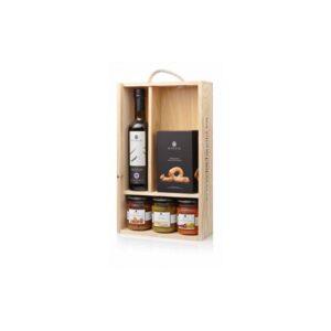 estuche regalo madera gourmet