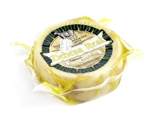 torta de la serena curada en aceite de oliva
