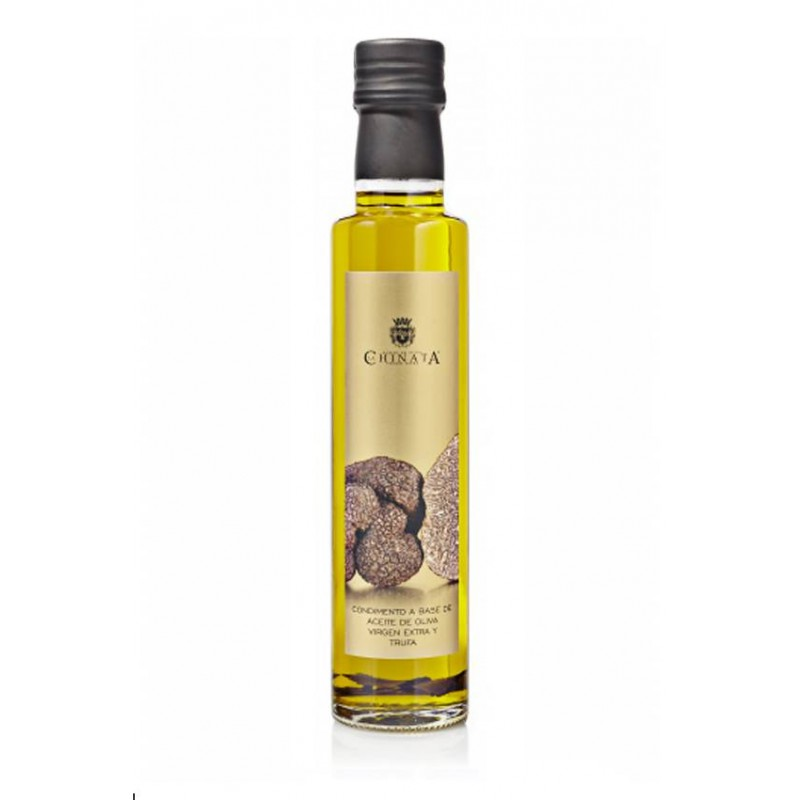 aceite oliva virgen extra condimento trufa