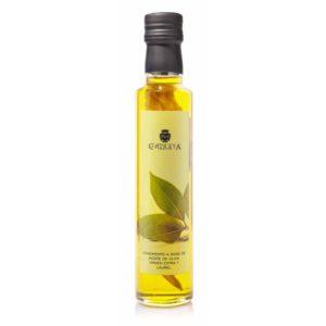 aceite aromatizado con laurel