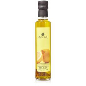 aceite aromatizado con limón