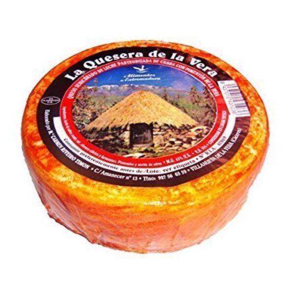 queso de cabra con pimentón La Quesera de la vera