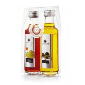 miniaturas aceite y vinagre