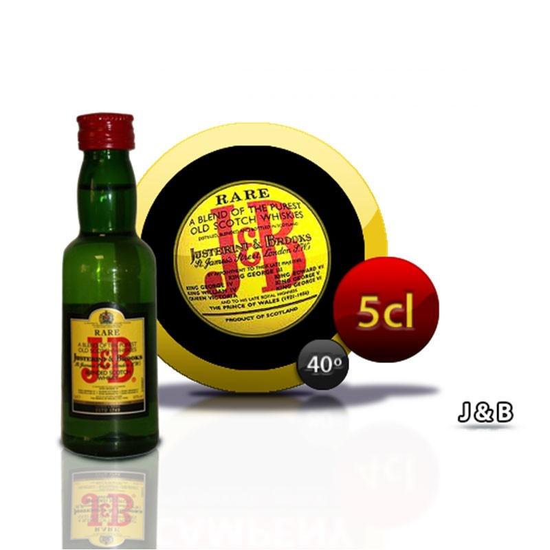 miniatura Whisky JB