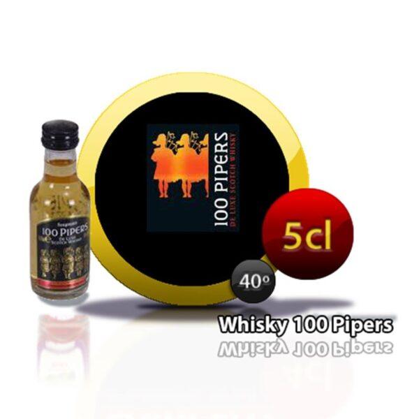 miniatura whisky 100 pepers