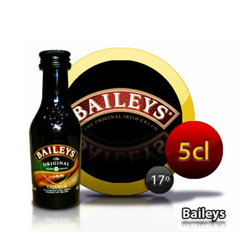 miniatura crema de whisky Bailey's