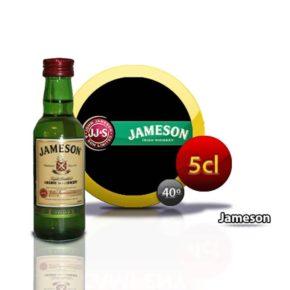 miniatura whisky Jameson