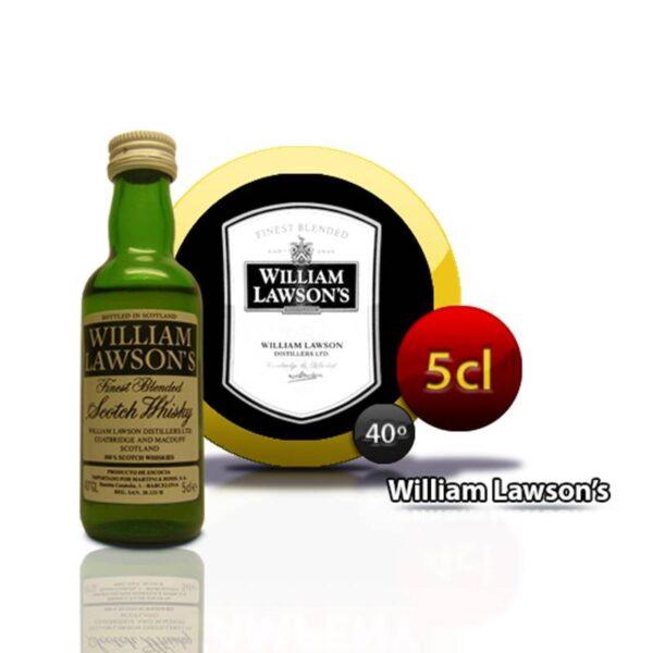 miniatura whisky William Lawson's