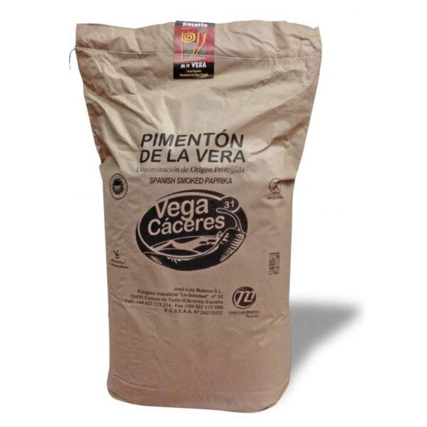 pimentón de la vera picante saco 5 kgs