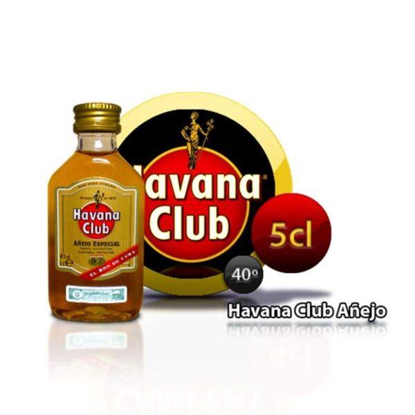 miniatura de ron Habana Club
