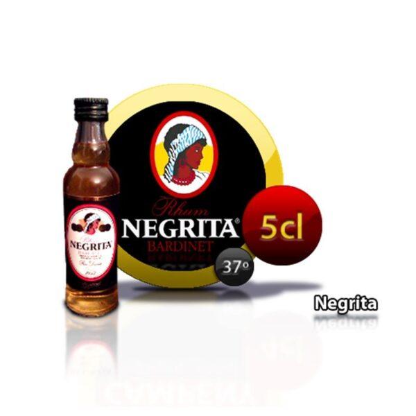 miniatura de ron Negrita