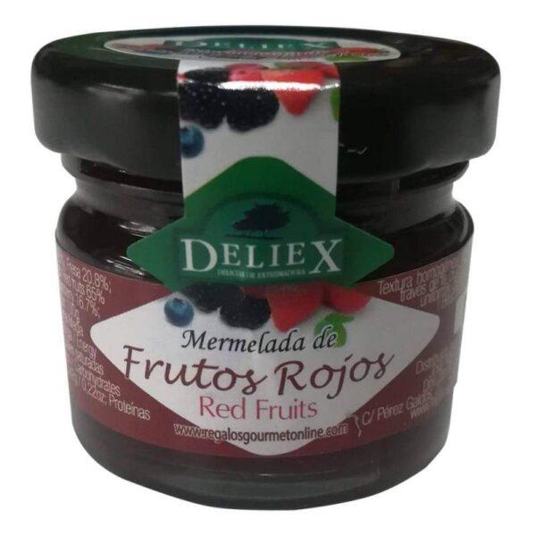 mermelada de frutos rojos 30 grs