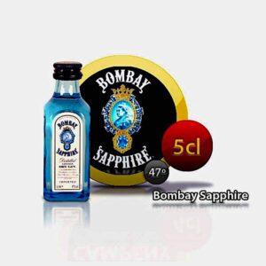 miniatura de ginebra bombay sapphire