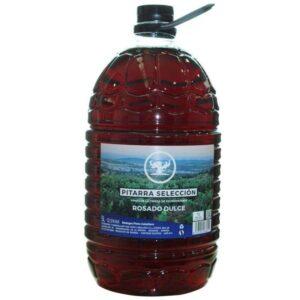vino pitarra rosado garrafa 5 L
