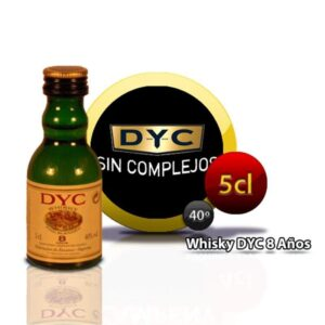 miniatura Whisky Dyc 8 años