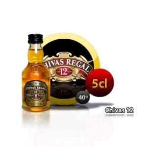 Miniatura Whisky Chivas 12 años