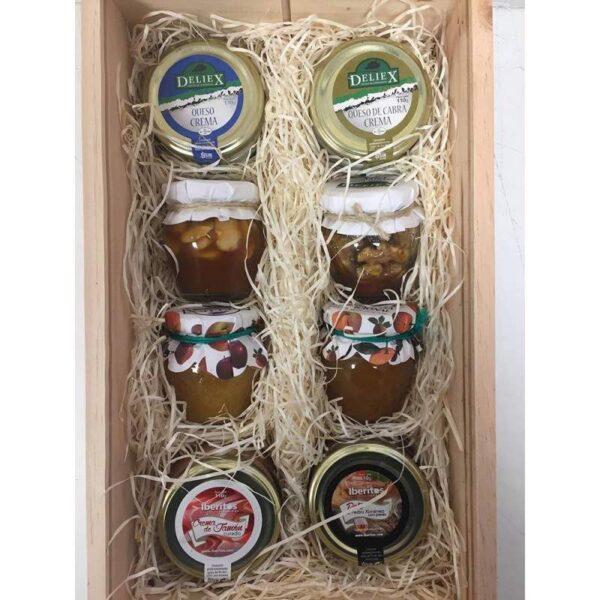 Caja Regalo Gourmet 1 con productos extremeños