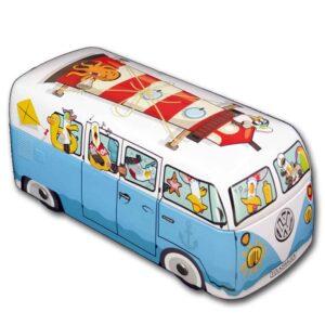caja metal furgoneta playa