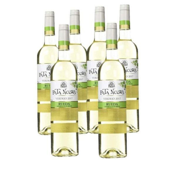 Vino Blanco Pata Negra Verdejo D.O Rueda