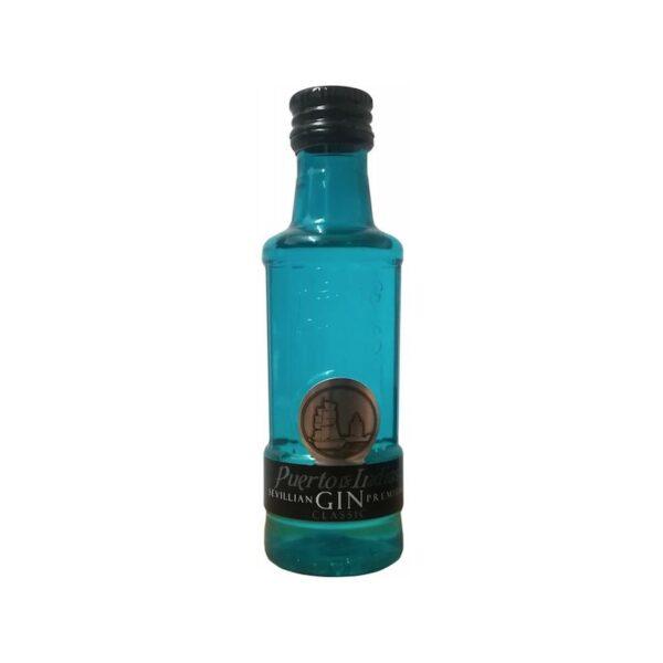 miniatura de ginebra azul Puerto de Indias