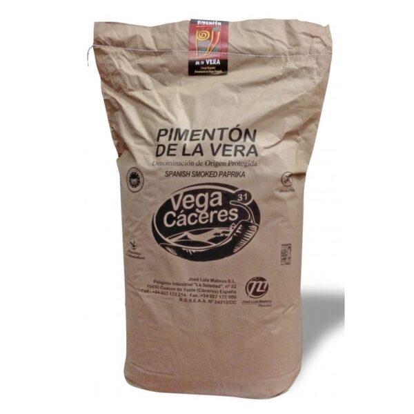 pimentón de la vera agridulce saco 25 kgs
