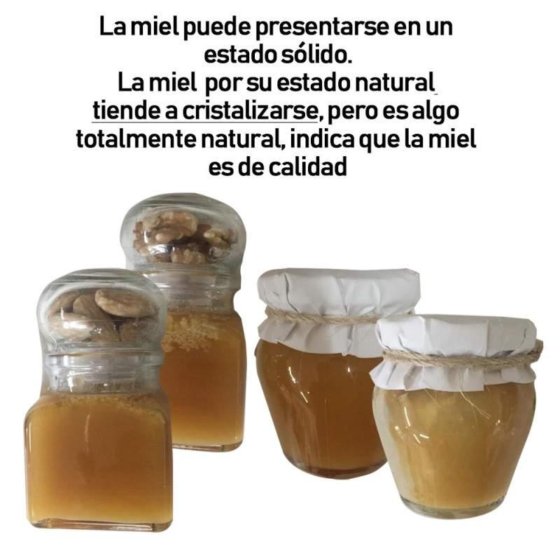Miel natural de Extremadura en formato miniatura