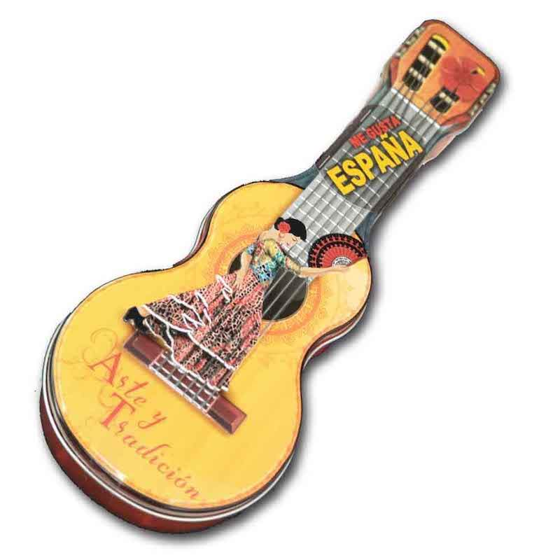 caja metal guitarra
