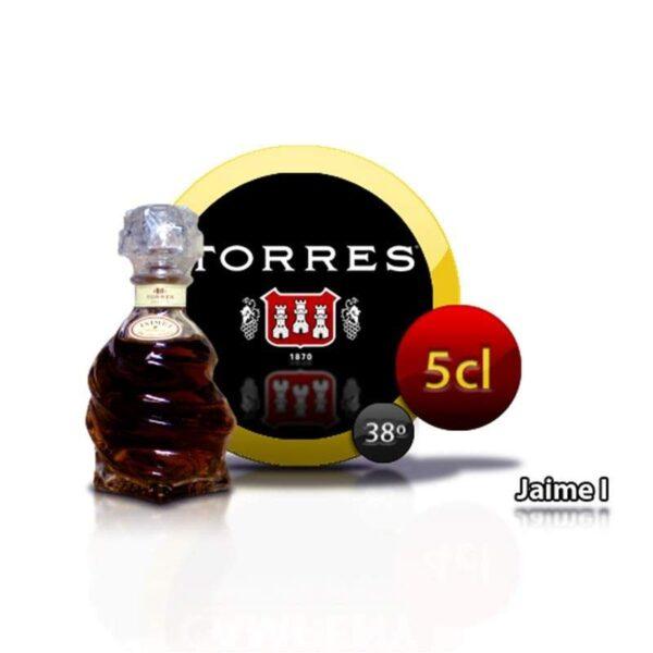 miniatura de brandy Jaime I Reserva