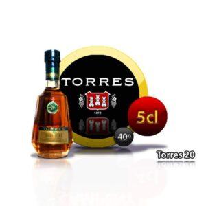 miniatura de brandy Torres 20 Hors D'age