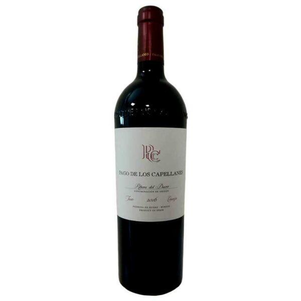 vino tinto Pago de los Capellanes