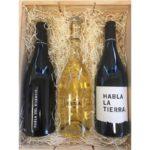 Lote regalo estuche vinos Habla
