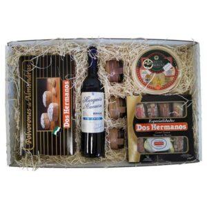 estuche gourmet Navidad 1 para regalo de empresa