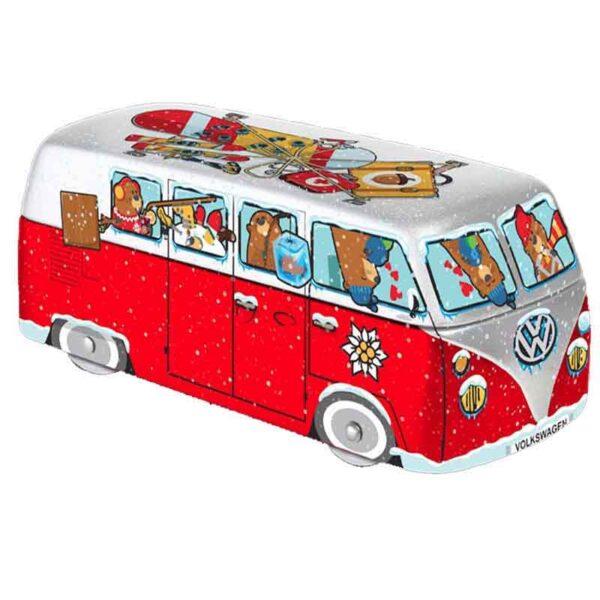Caja metal furgoneta Navidad