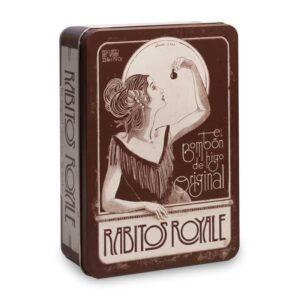 caja de bombones de higo diseño vintage