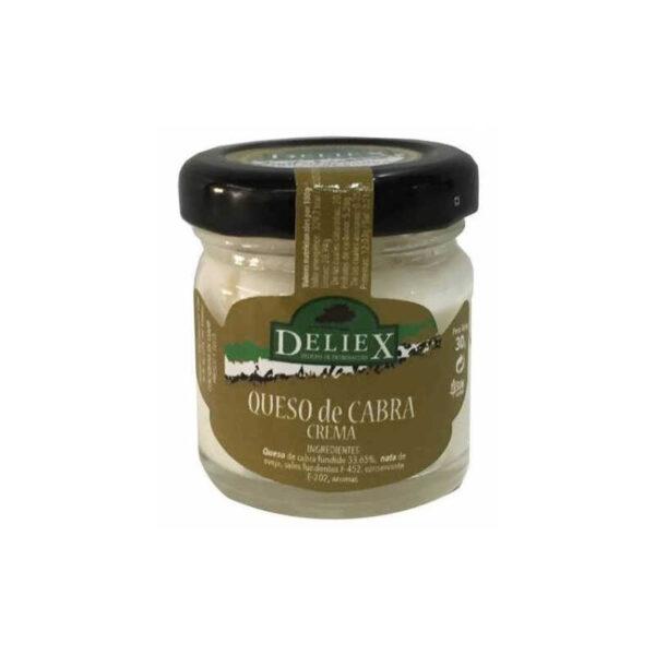 crema de queso de cabra 30g