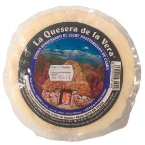 queso de cabra semicurado