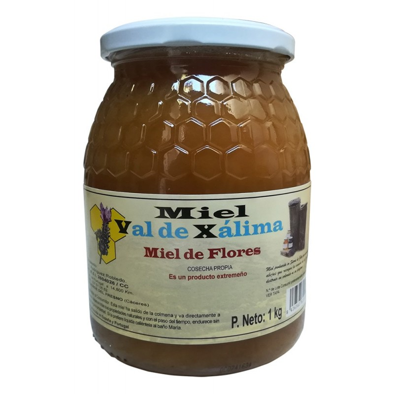miel multifloral 1 kg