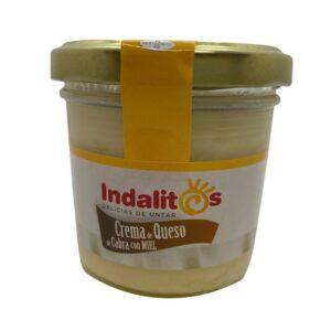 crema de queso de cabra con miel 100g