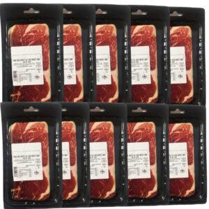 jamón ibérico cebo en 10 sobres 100 gr
