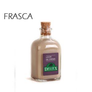 miniatura de licor de crema de orujo