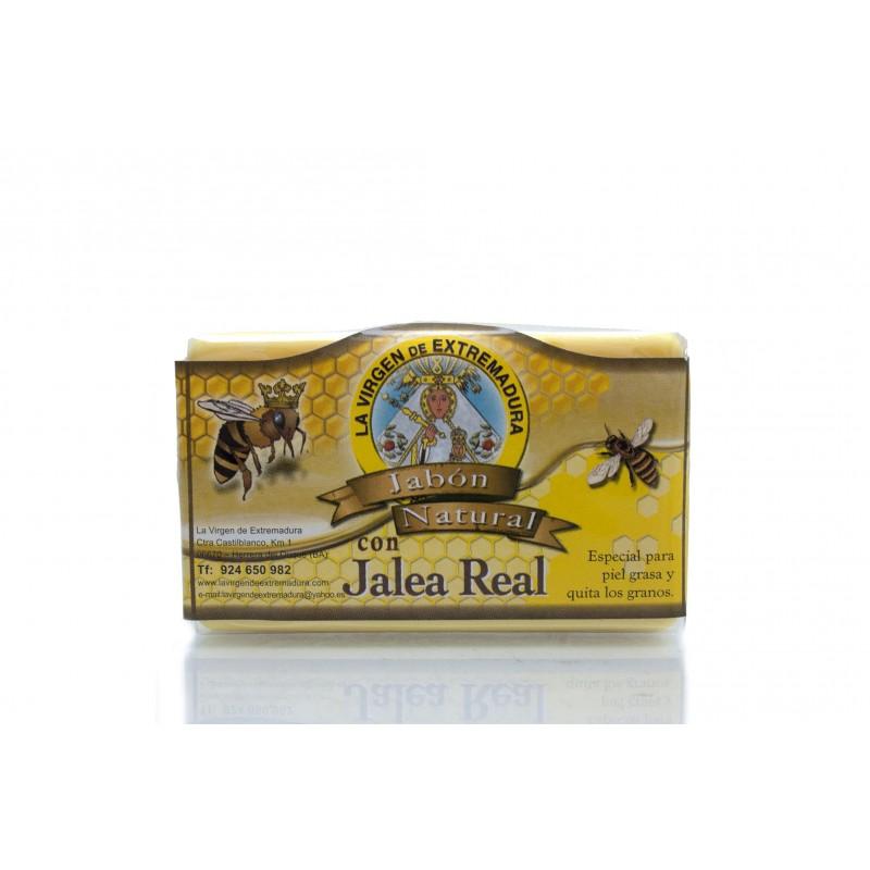 jabón con miel y jalea real