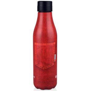 botella isotérmica roja