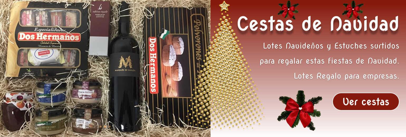 lotes y cestas Navidad